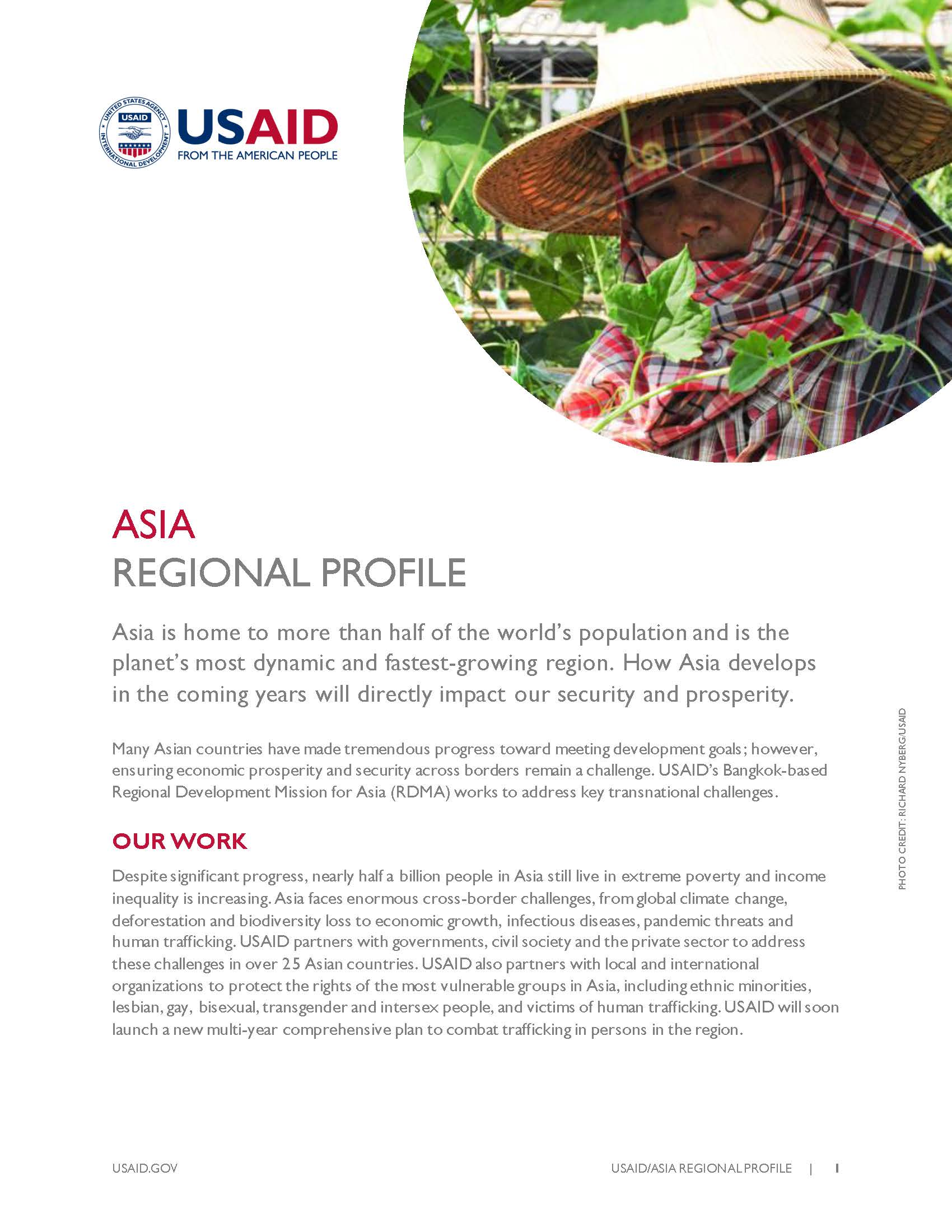 Asia Regional Country Profile