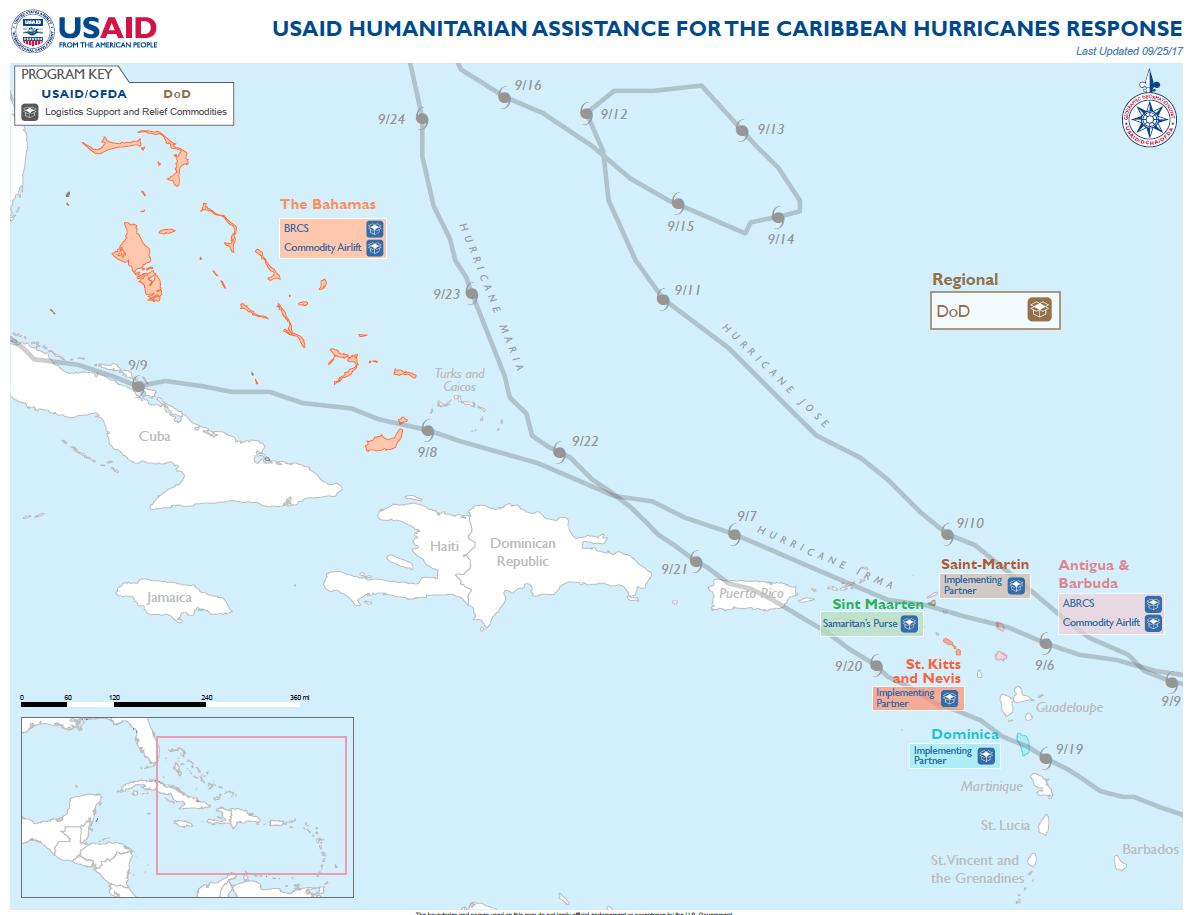 Caribbean Hurricanes - Map #13
