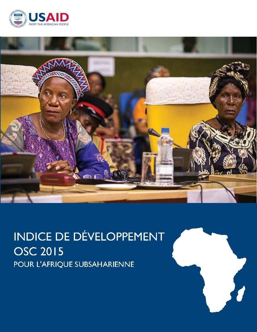 Indice de Développement OSC 2015 Pour l'Afrique subsaharienne