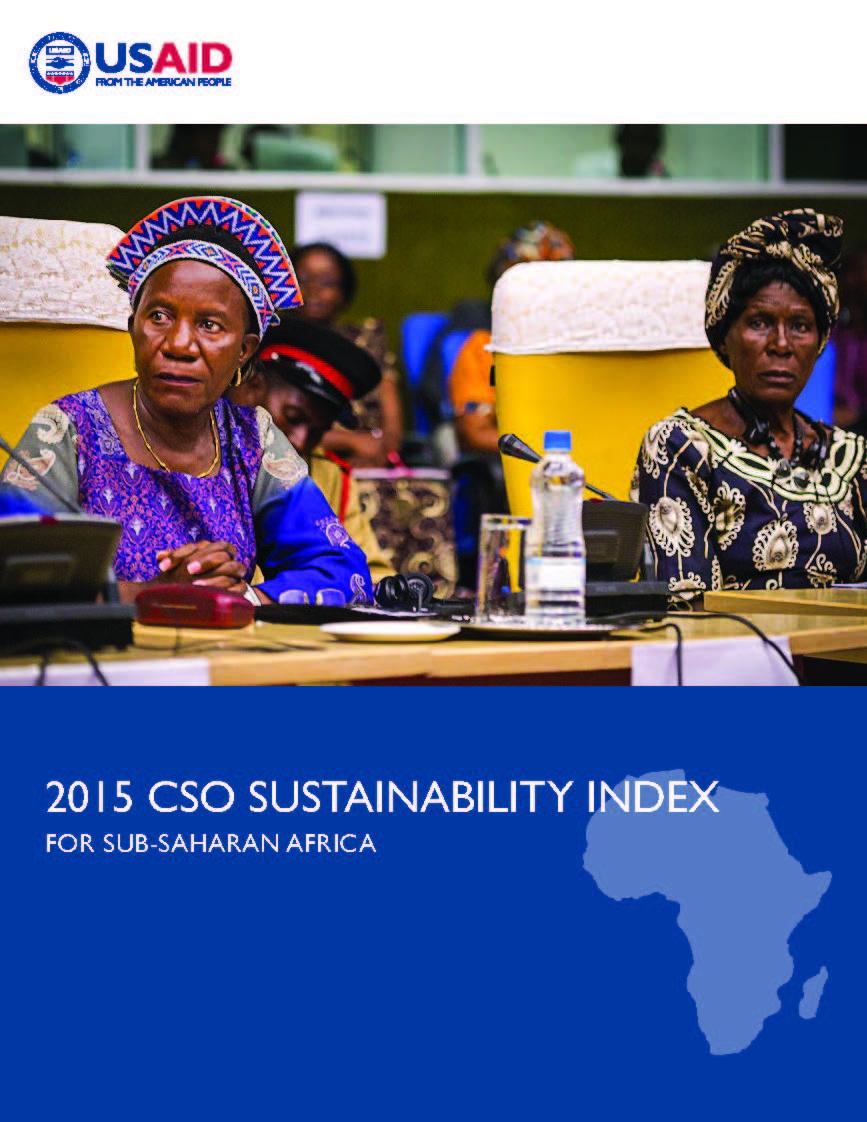 2015 CSO Sustainability Index For Sub-Saharan Africa