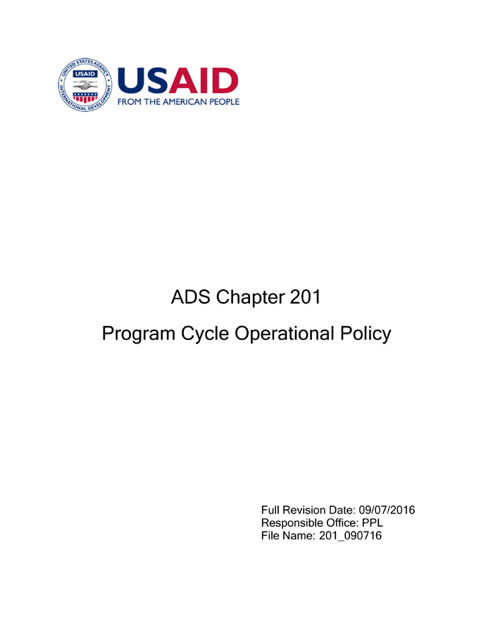 ADS Chapter 201