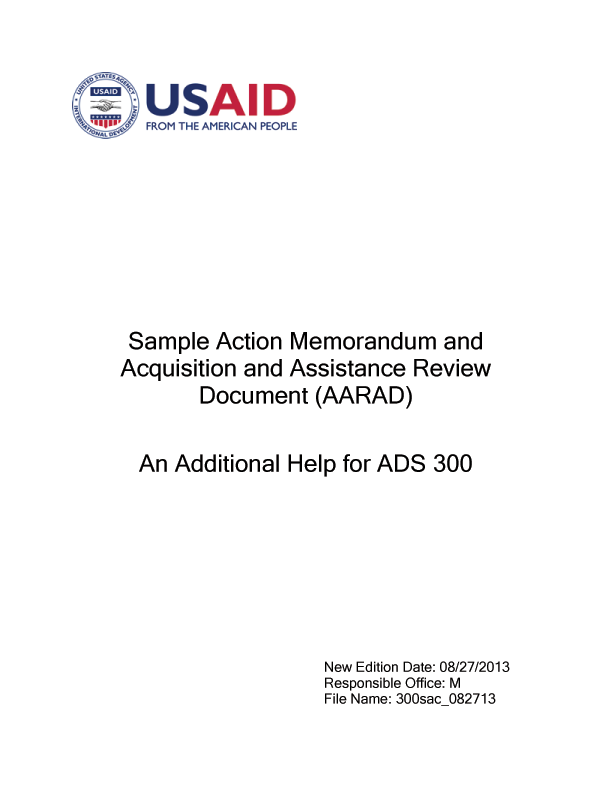 ADS Reference 300sac