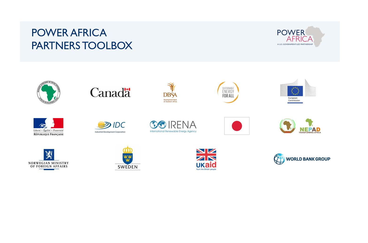 Power Africa Toolbox