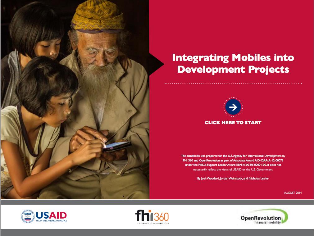 Integrating Mobiles into Development Projects Handbook