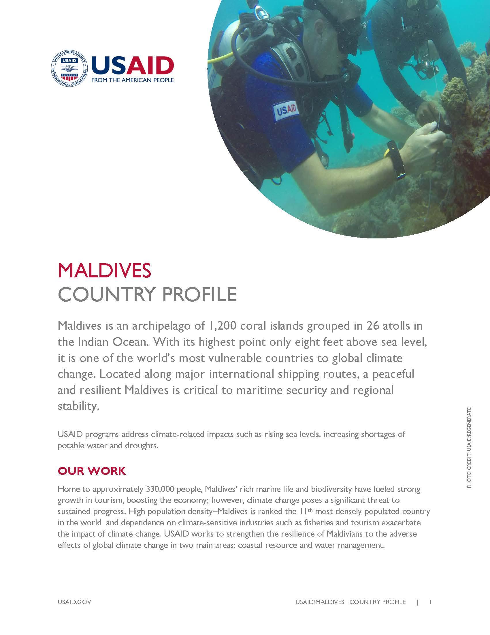 Maldives Country Profile (pdf)