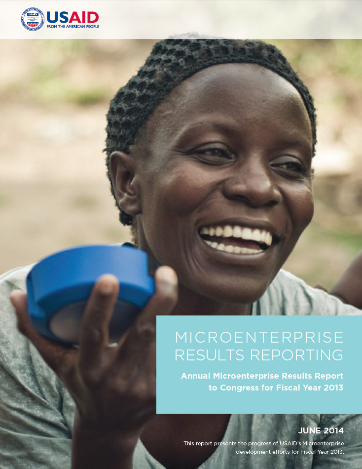 Annual Microenterprise Results Report to Congress for Fiscal Year 2013