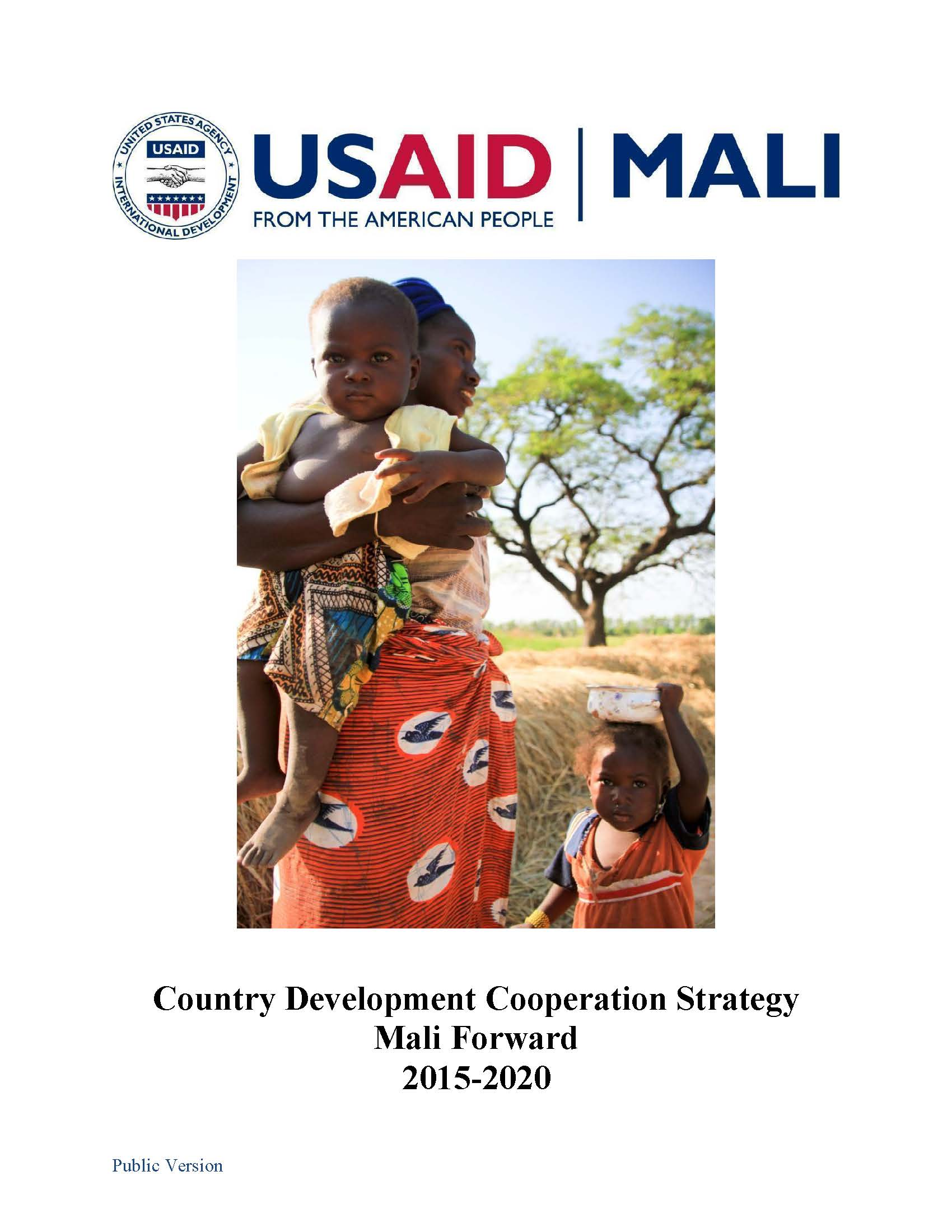 Mali Country Development Cooperation Strategy  2015-2020