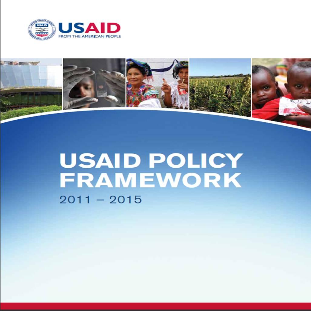 USAID Policy Framework 2011- 2015