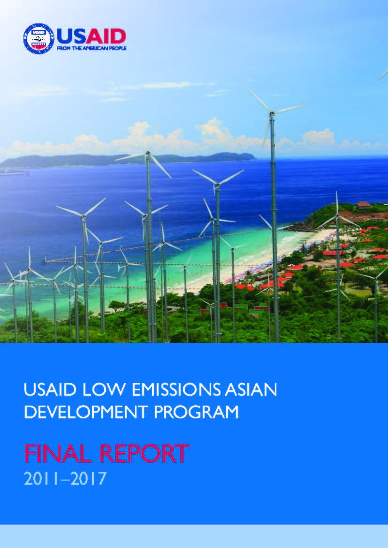 USAID Low Emissions Asian Development Program Final Report