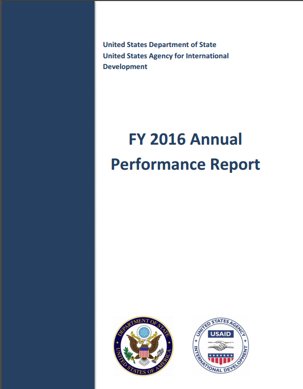 FY 2016 Annual Performance Report
