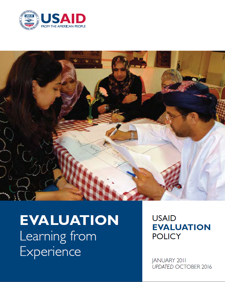 USAID Evaluation Policy