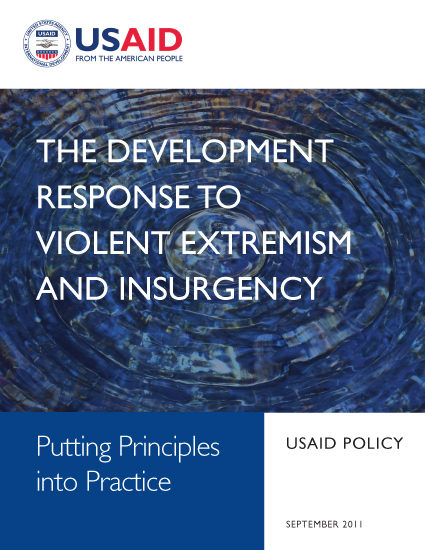 The Development Response to Violent Extremism and Insurgency