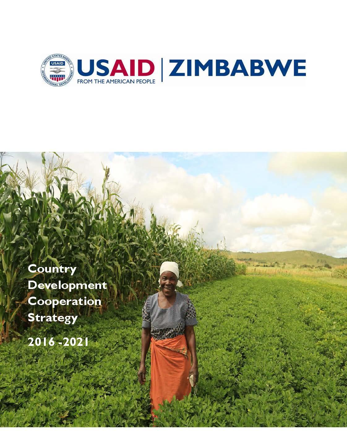 USAID/Zimbabwe Country Development Cooperation Strategy 2016 -2021