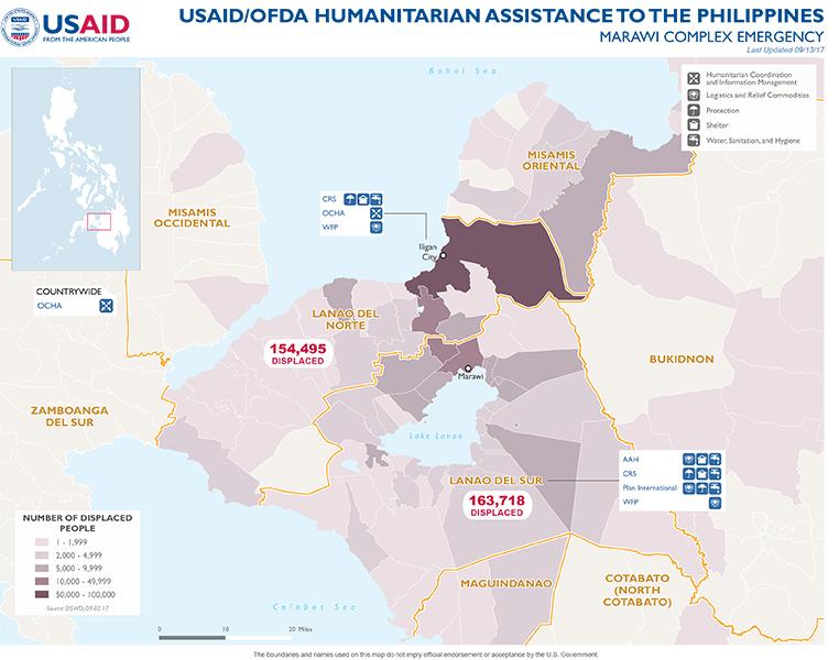 Philippines Map - 09-13-2017