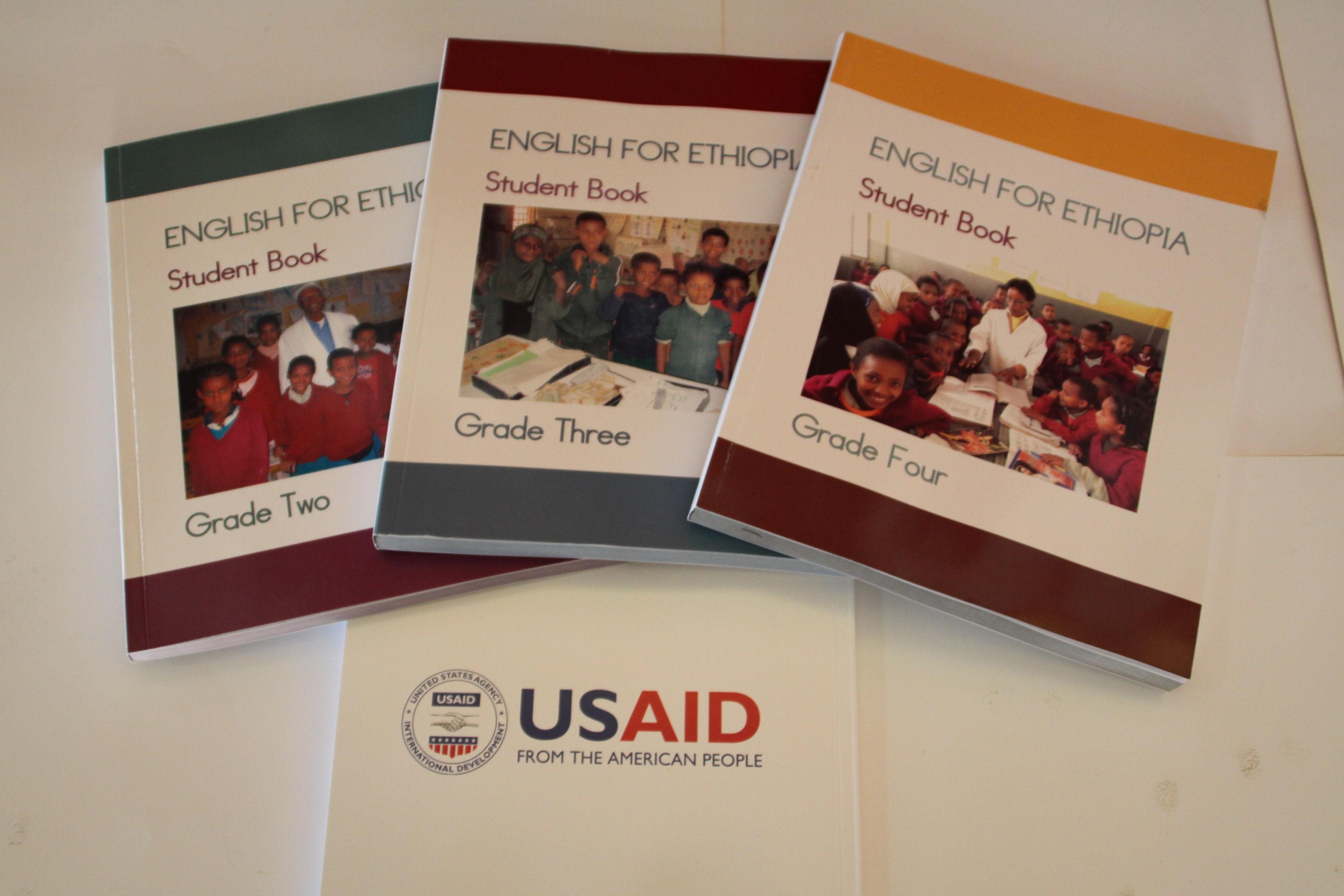New Textbooks to Help Ethiopian Students Improve English