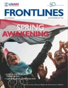 Frontlines cover - Democracy, Human Rights & Governance
