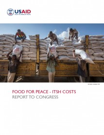 Food For Peace Internal Transportation, Storage, and Handling (ITSH) Costs