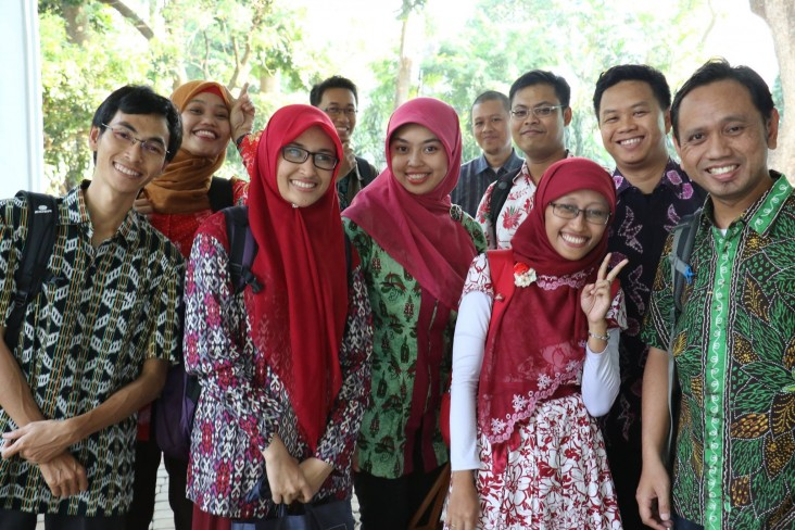Prestasi scholars gathered before departing to the U.S.