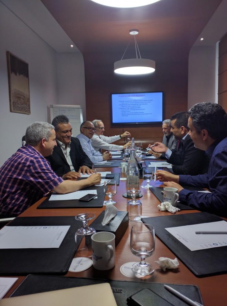 Electricity sector regulatory training with high-level officials from the General Electricity Company of Libya (GECOL).