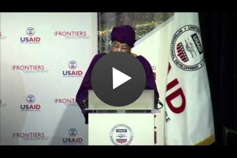 The Honorable Ellen Johnson Sirleaf - 42:38 - Click to view video