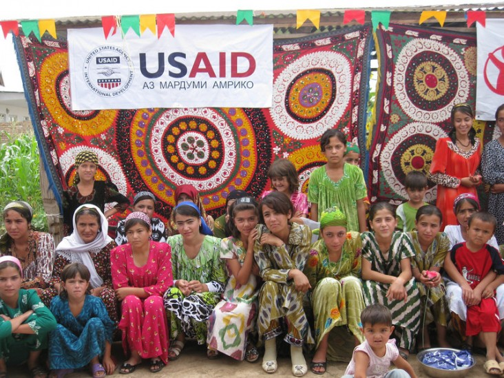 USAID supported families in Tajikistan after torrential rains caused floods and mudslides to wipe out their homes.
