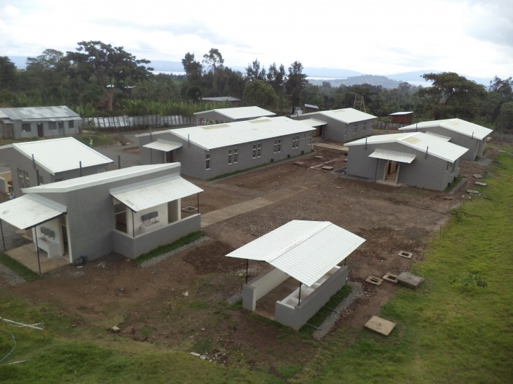 The USAID-constructed Finchawa Health Center in the Southern Nations, Nationalities and Peoples Region of Ethiopia.