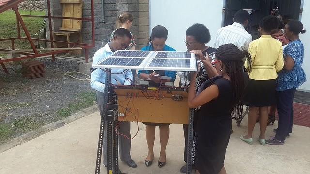 Solar training in Nairobi