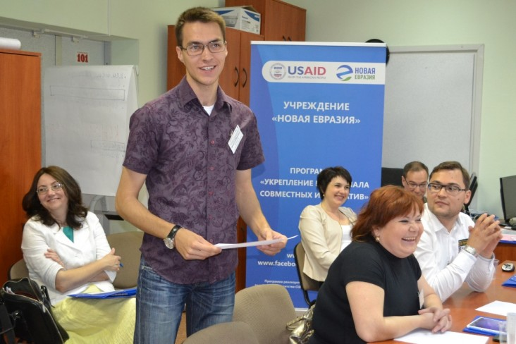 Training in the framework of the USAID supported Capacity Building for Civil Society Organizations project.