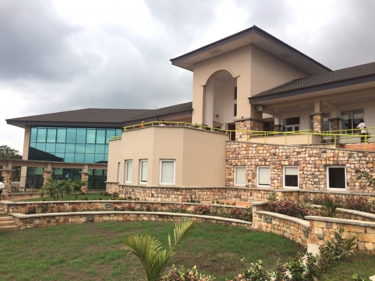 Ashesi University's new engineering building