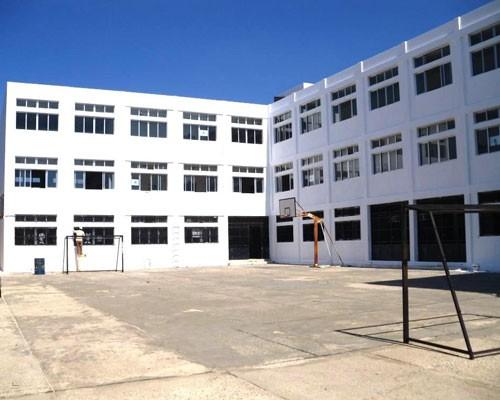 Tayr Felsay Intermediate School during the waterproofing operations.