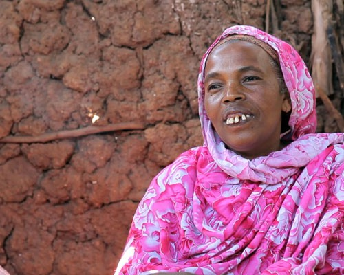 Kimya Ahmed and her husband have used their land certificate to increase agricultural production and access credit to buy livest