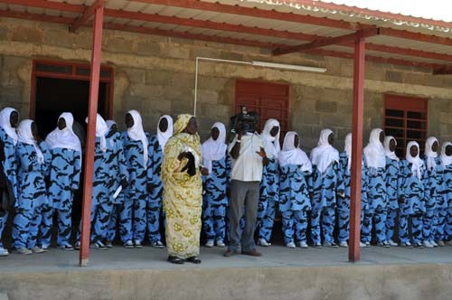 The USAID-funded Granville-Abbas Girls' Secondary School in Kurmuk, Blue Nile state, includes classrooms, dormitories, a library