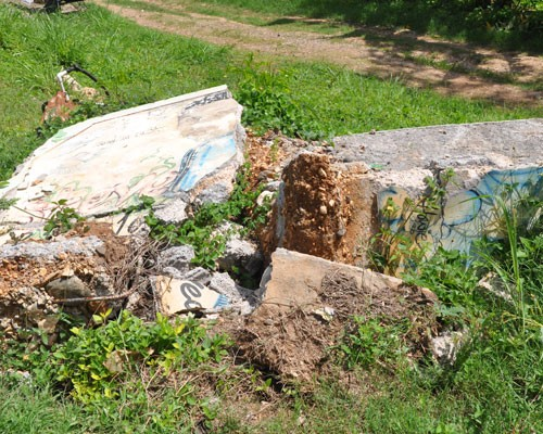 A mural that once paid homage to a Gravel Heights gang member has been destroyed.