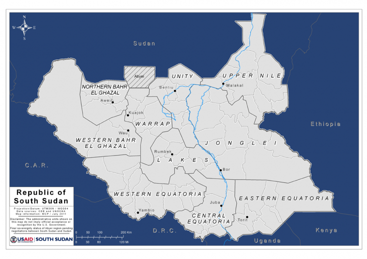 Two sudans the separation of africas largest country and the road map of sudan gumiabroncs Choice Image