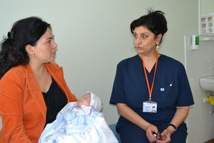 USAID improved the capacity of the Ministry of Health to implement maternal and child health initiatives.