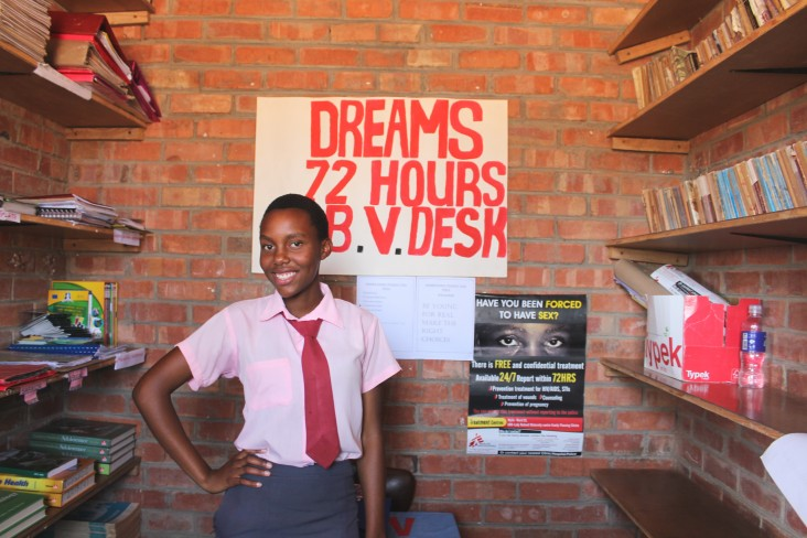 Helping young girls stay HIV free