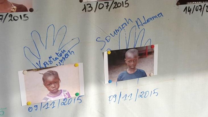 Kadiatou and Adama Soumah—the last Ebola survivors released from the Ebola Treatment Unit in Forécariah, Guinea.