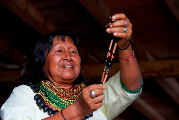 Women in the Cofan community are leading the maintenance of cultural traditions.