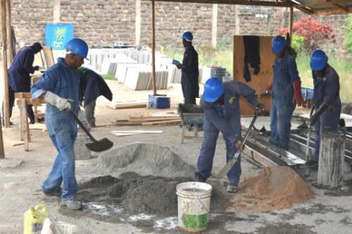 Team converting waste into fertilizer