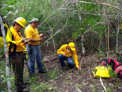 A USAID program promotes fire management planning in Mexico's Sian Ka'an Biosphere Reserve.