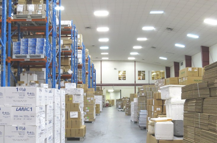 A state-of-the-art warehouse workshop was one of the key benefits of USAID's Supply Chain Management System project.