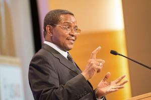 H.E. Jakaya Kikwete. President of the United Republic of Tanzania