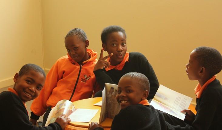Students of Funda Ujabule at the University of Johannesburg's Soweto Campus