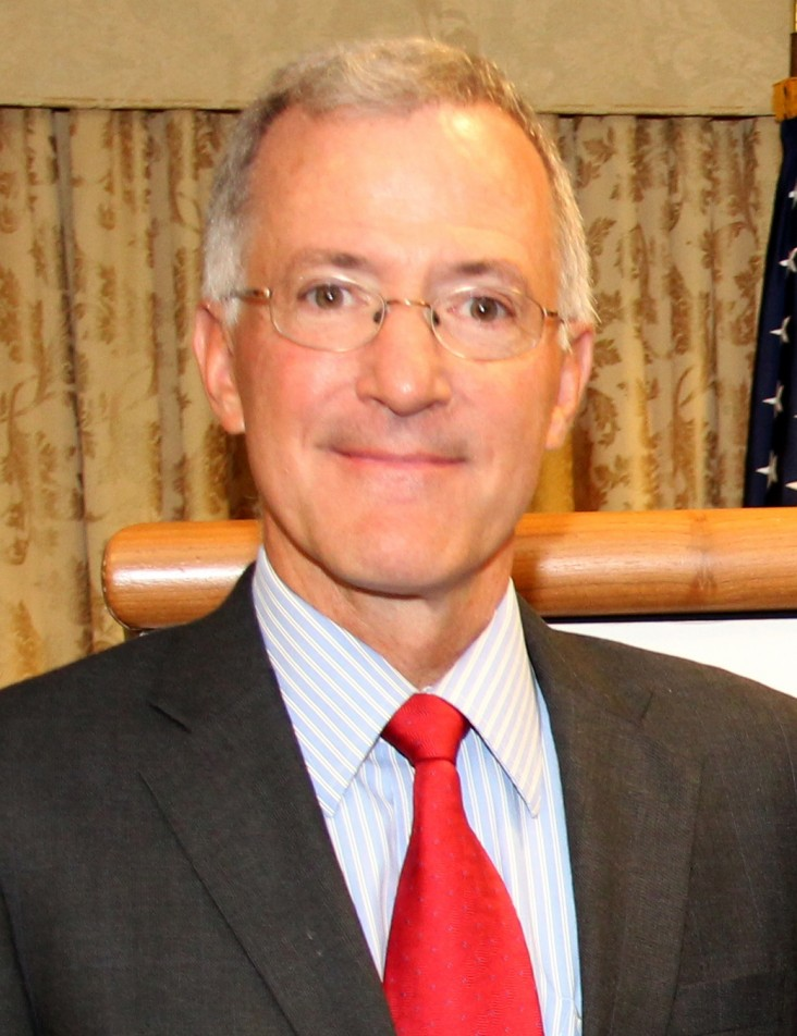 William Hammink, USAID mission director in Afghanistan
