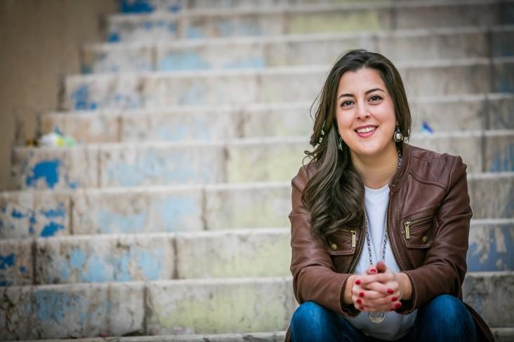 Muna Haddad, entrepreneur and president of the Jordan Trail Association