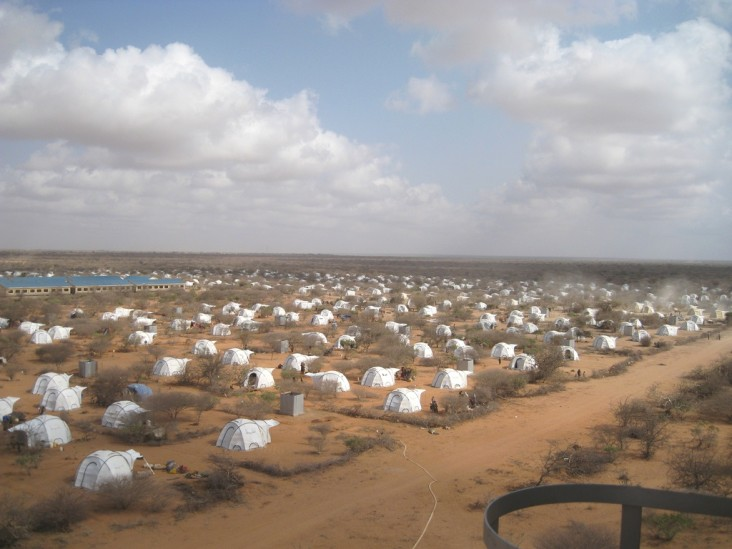 Ifo Camp, one of four main camps that make up Dadaab