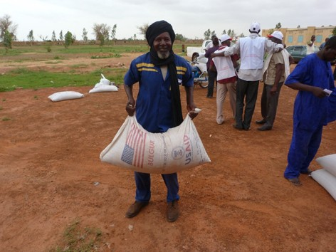 U.S. food aid helps Malian families withstand crises and conflict