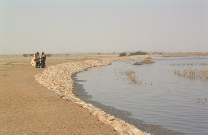 Water management project in Mali.
