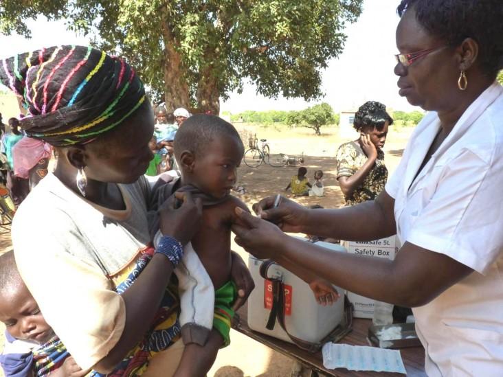 The MenAfriVac vaccination campaign in Burkina Faso, 2010
