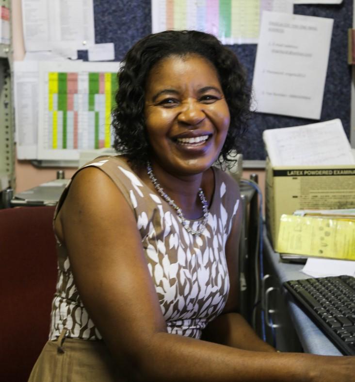 Hilde Wanakashimba, a Let's Unite co-founder